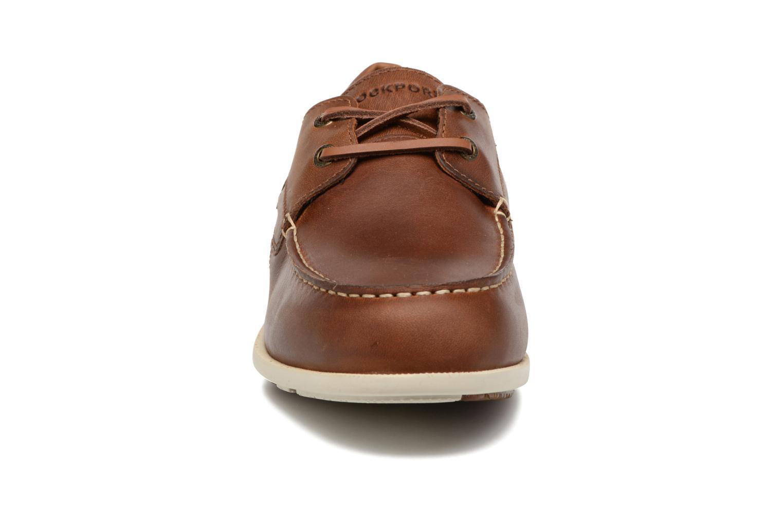 Chaussures à lacets Rockport 2-Eye Marron vue portées chaussures