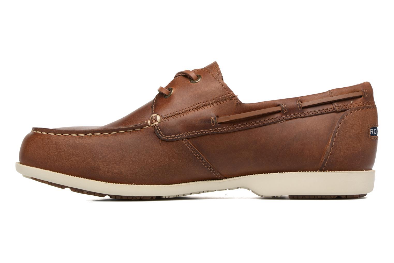Zapatos con cordones Rockport 2-Eye Marrón vista de frente