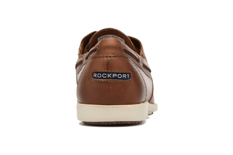 Zapatos con cordones Rockport 2-Eye Marrón vista lateral derecha