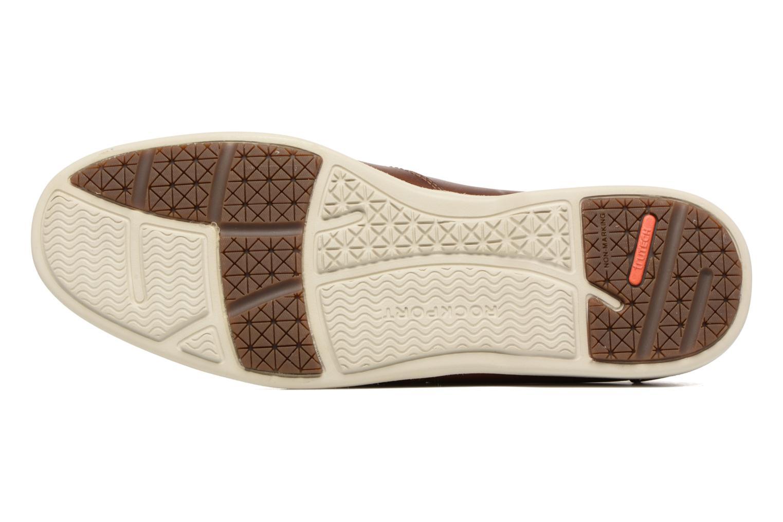 Zapatos con cordones Rockport 2-Eye Marrón vista de arriba