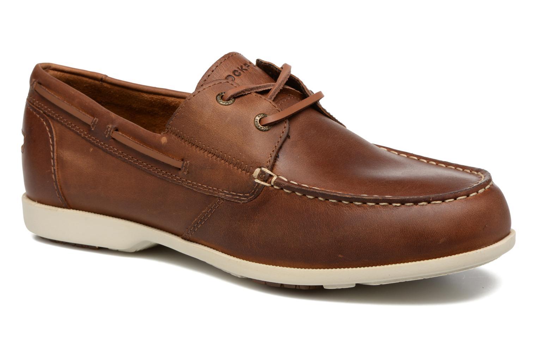 Chaussures à lacets Rockport 2-Eye Marron vue détail/paire