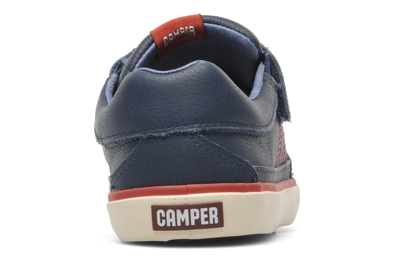 Baskets Camper Pelotas Kids 80343 Bleu vue droite
