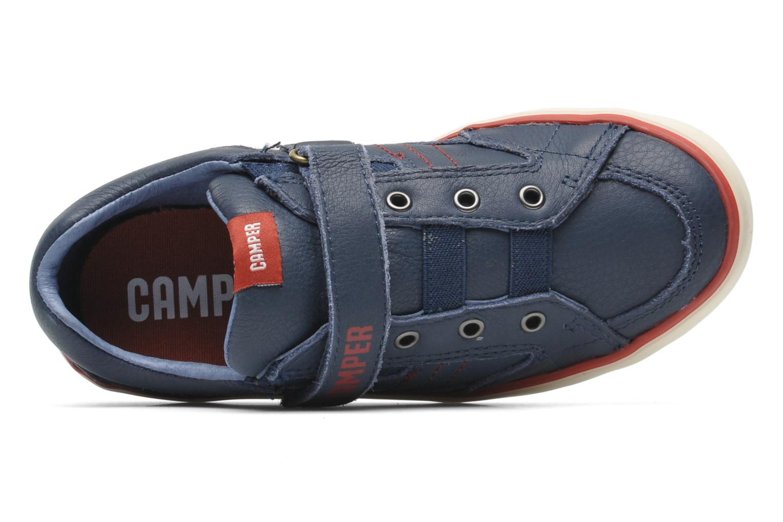 Sneakers Camper Pelotas Kids 80343 Blauw links