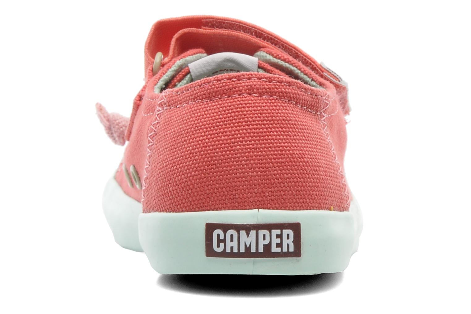 Trainers Camper Peu 80473 Pink view from the right