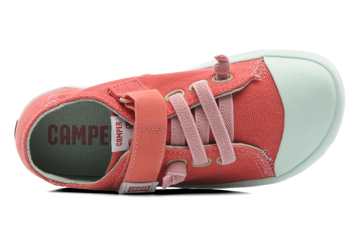 Trainers Camper Peu 80473 Pink view from the left