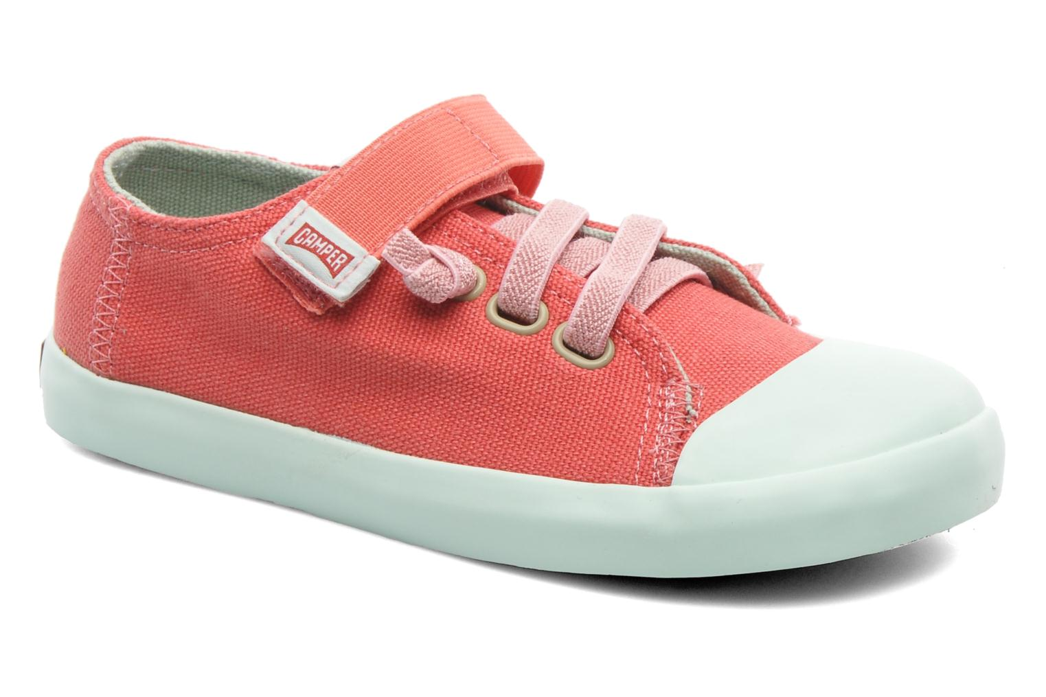 Trainers Camper Peu 80473 Pink detailed view/ Pair view