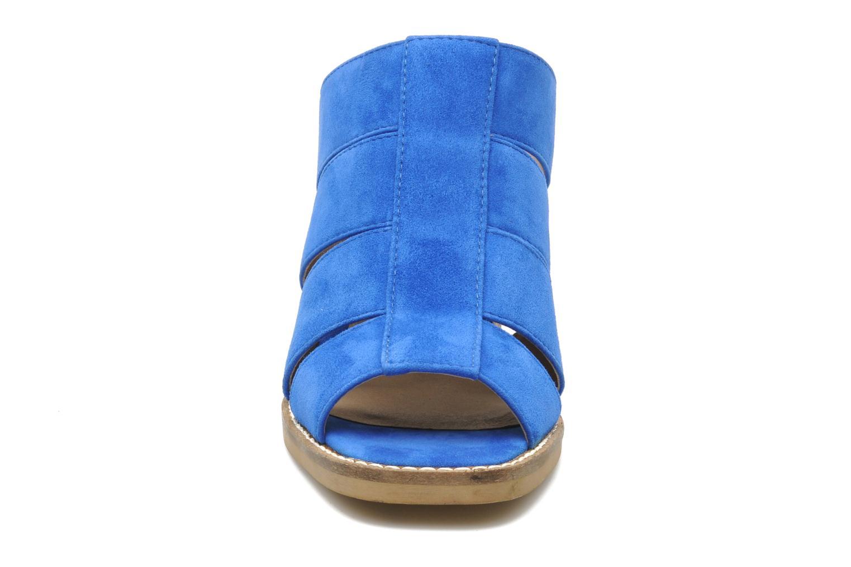 Zuecos Shellys London BARDY Azul vista del modelo