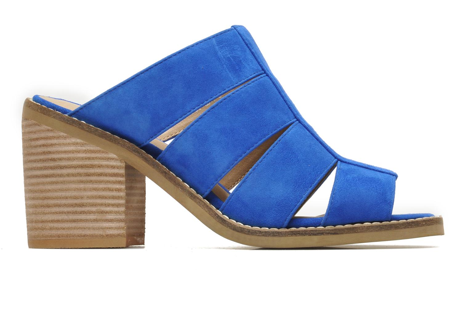 Mules & clogs Shellys London BARDY Blue back view