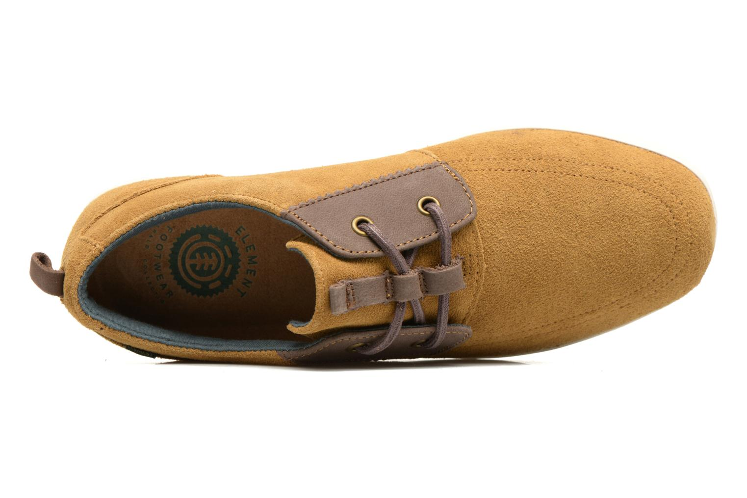 Trainers Element Catalina Brown view from the left