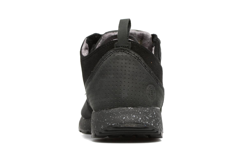 Baskets Element Mitake Noir vue droite
