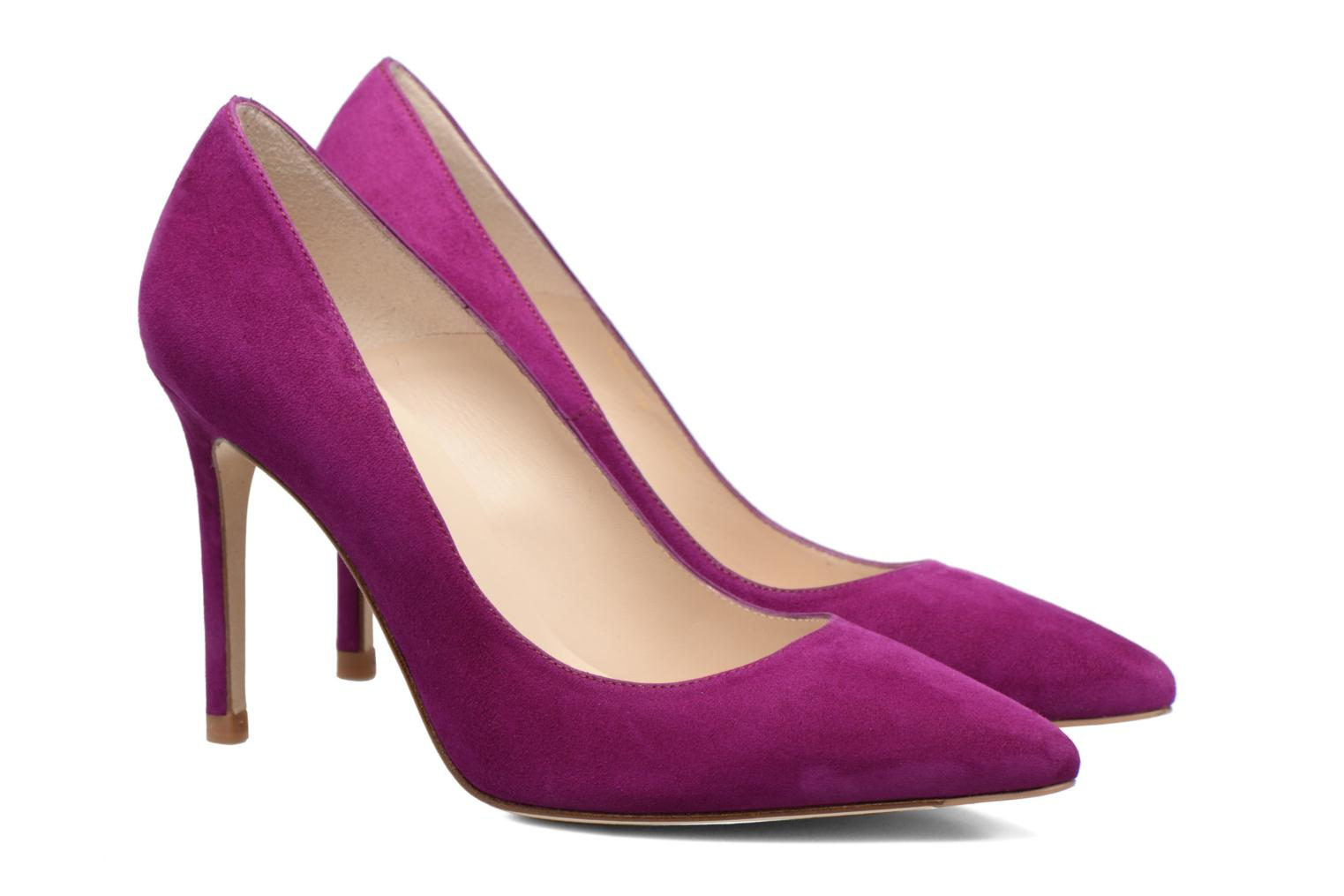 Fern Orchid Suede