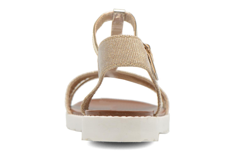 Sandales et nu-pieds Eclipse Sandale Athènes Or et bronze vue droite