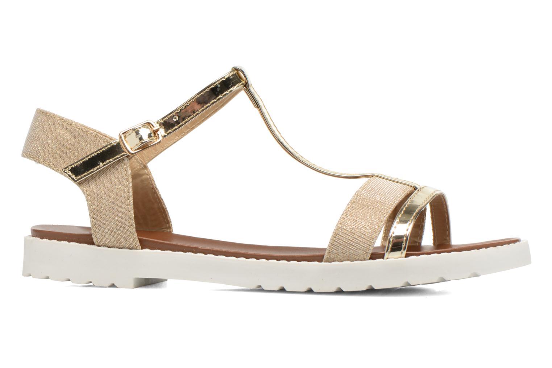 Sandales et nu-pieds Eclipse Sandale Athènes Or et bronze vue derrière