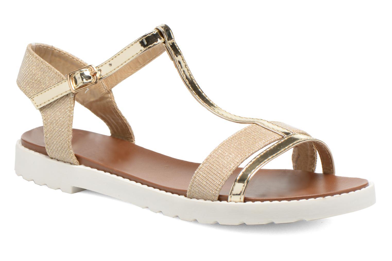 Sandales et nu-pieds Eclipse Sandale Athènes Or et bronze vue détail/paire