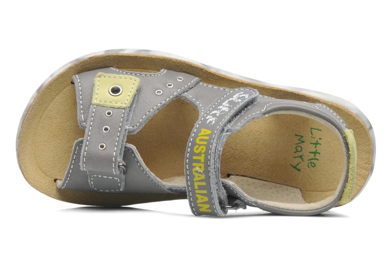 Sandales et nu-pieds Little Mary SURFER Gris vue gauche