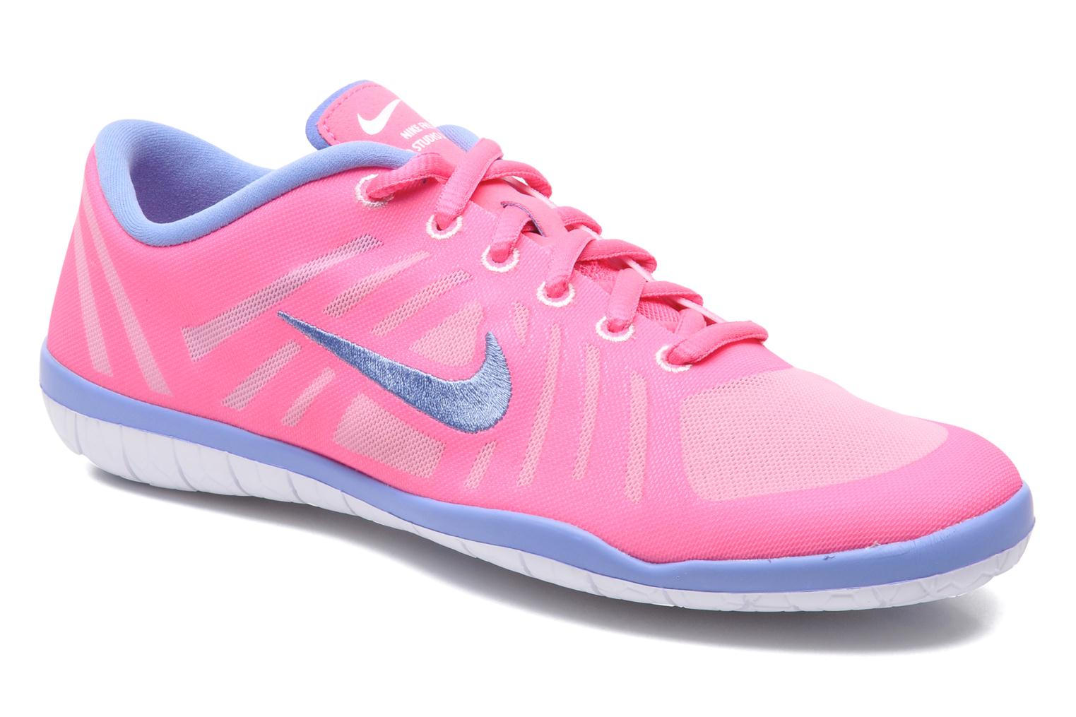 Sport shoes Nike Wmn Nike Free 3.0 Studio Dance Pink detailed view/ Pair  view
