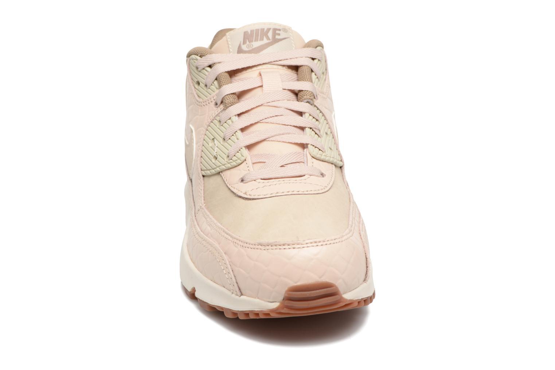 Sneaker Nike Wmns Air Max 90 Prem beige schuhe getragen