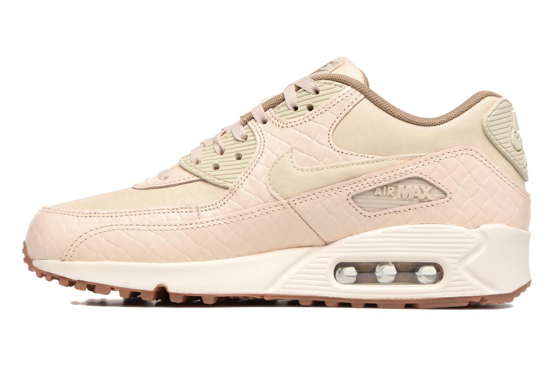 Sneaker Nike Wmns Air Max 90 Prem beige ansicht von vorne