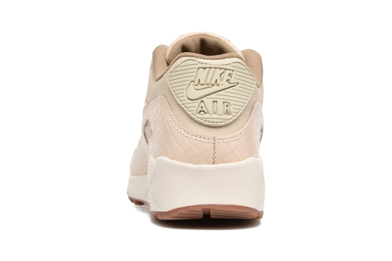 Sneaker Nike Wmns Air Max 90 Prem beige ansicht von rechts