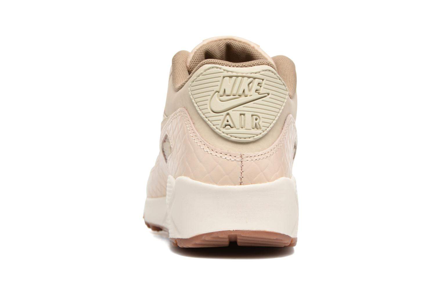 Trainers Nike Wmns Air Max 90 Prem Beige view from the right