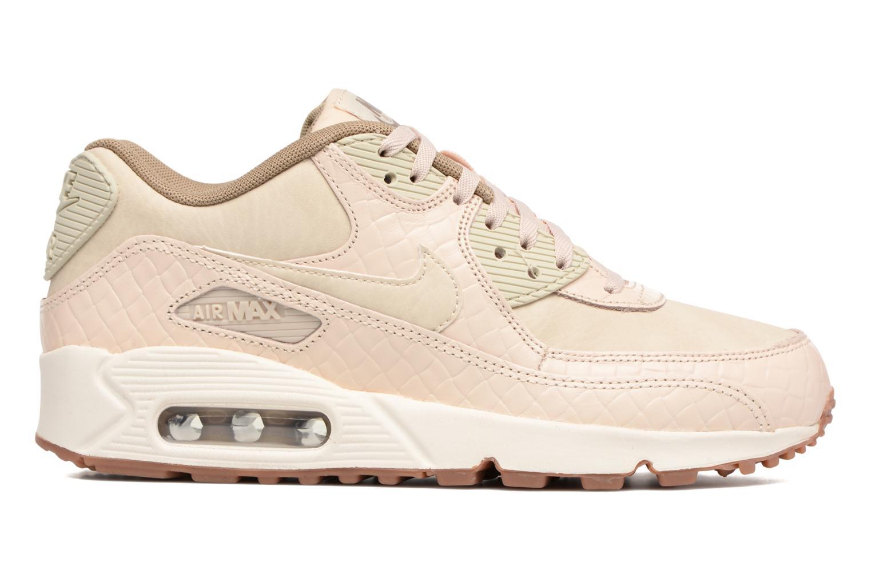 Sneaker Nike Wmns Air Max 90 Prem beige ansicht von hinten