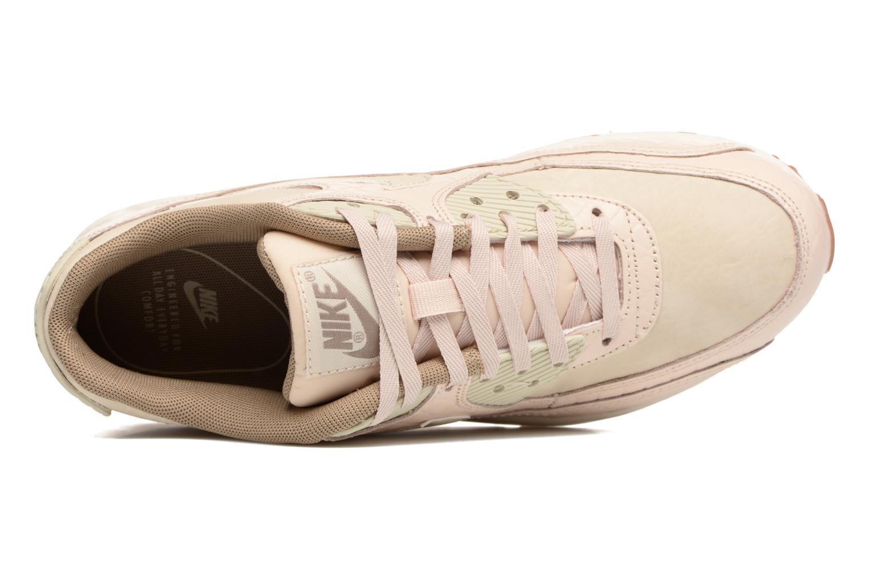 Sneaker Nike Wmns Air Max 90 Prem beige ansicht von links
