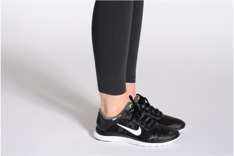 Chaussures de sport Nike Wmns Nike Free 3.0 V5 Ext Prnt Rose vue bas / vue portée sac