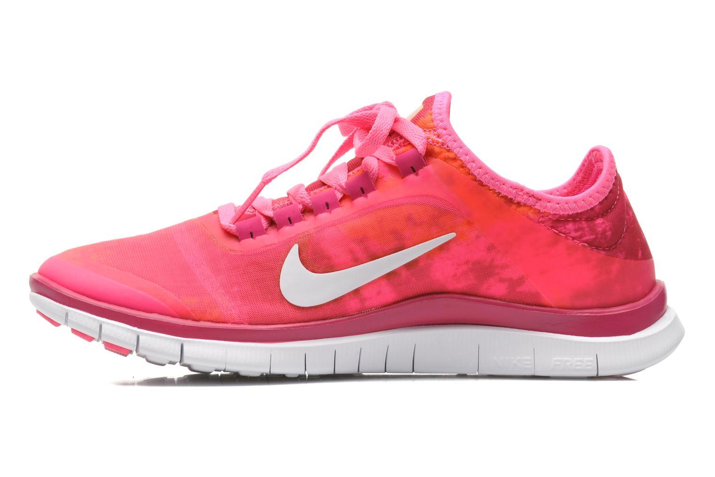 Chaussures de sport Nike Wmns Nike Free 3.0 V5 Ext Prnt Rose vue face