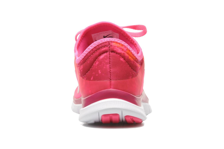 Chaussures de sport Nike Wmns Nike Free 3.0 V5 Ext Prnt Rose vue droite