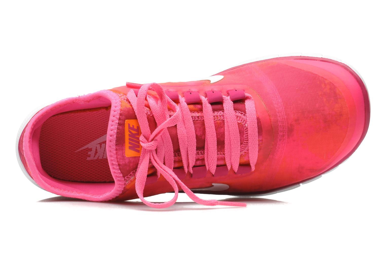 Chaussures de sport Nike Wmns Nike Free 3.0 V5 Ext Prnt Rose vue gauche