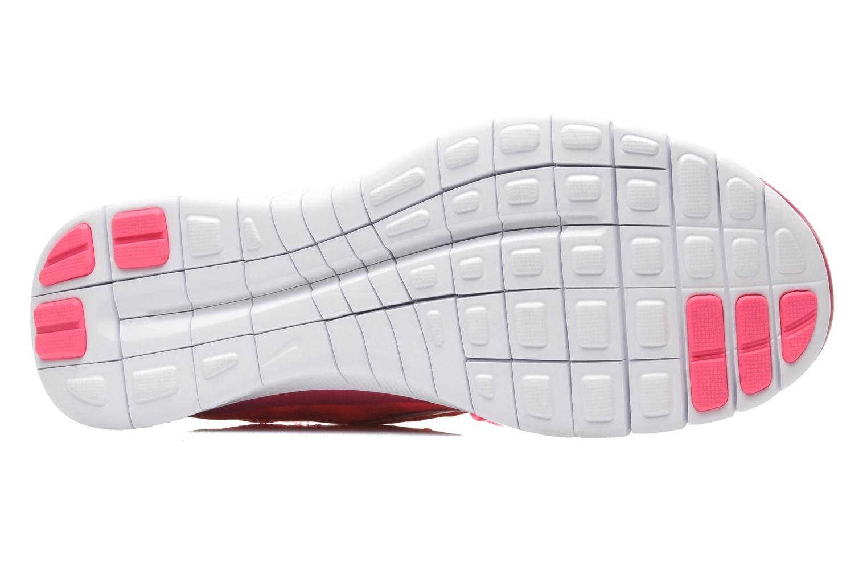 Chaussures de sport Nike Wmns Nike Free 3.0 V5 Ext Prnt Rose vue haut