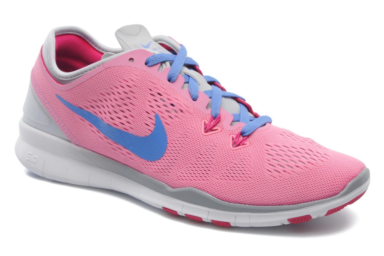 Chaussures de sport Nike Wmns Nike Free 5.0 Tr Fit 5 Rose vue détail/paire