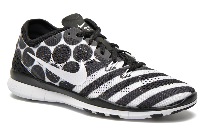 Wmns Nike Free 5.0 Tr Fit 5 Prt Black/white