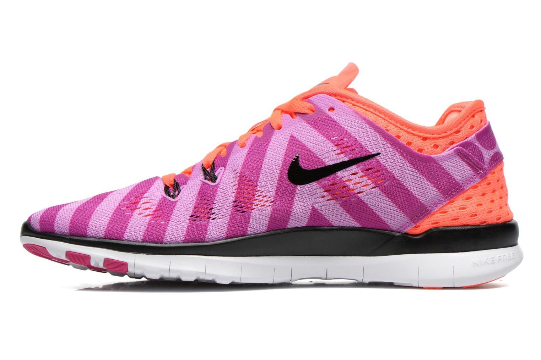 Chaussures de sport Nike Wmns Nike Free 5.0 Tr Fit 5 Prt Violet vue face