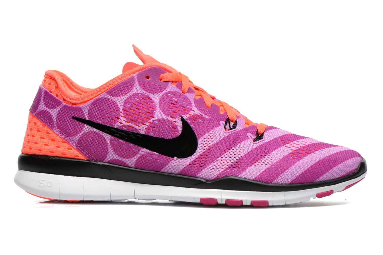 Chaussures de sport Nike Wmns Nike Free 5.0 Tr Fit 5 Prt Violet vue derrière