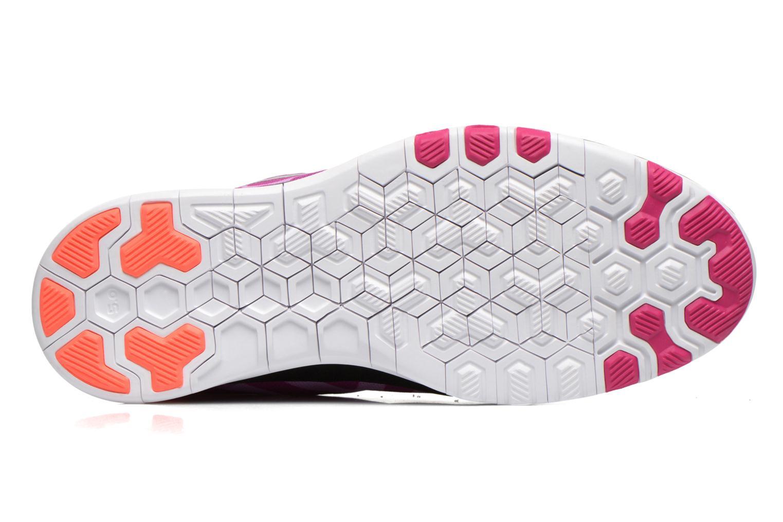 Chaussures de sport Nike Wmns Nike Free 5.0 Tr Fit 5 Prt Violet vue haut