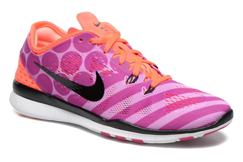 Wmns Nike Free 5.0 Tr Fit 5 Prt Fchs Glow/Blk-Ht Lv-Fchs Flsh