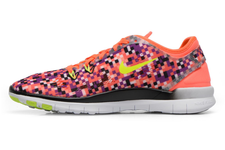 Chaussures de sport Nike Wmns Nike Free 5.0 Tr Fit 5 Prt Multicolore vue face