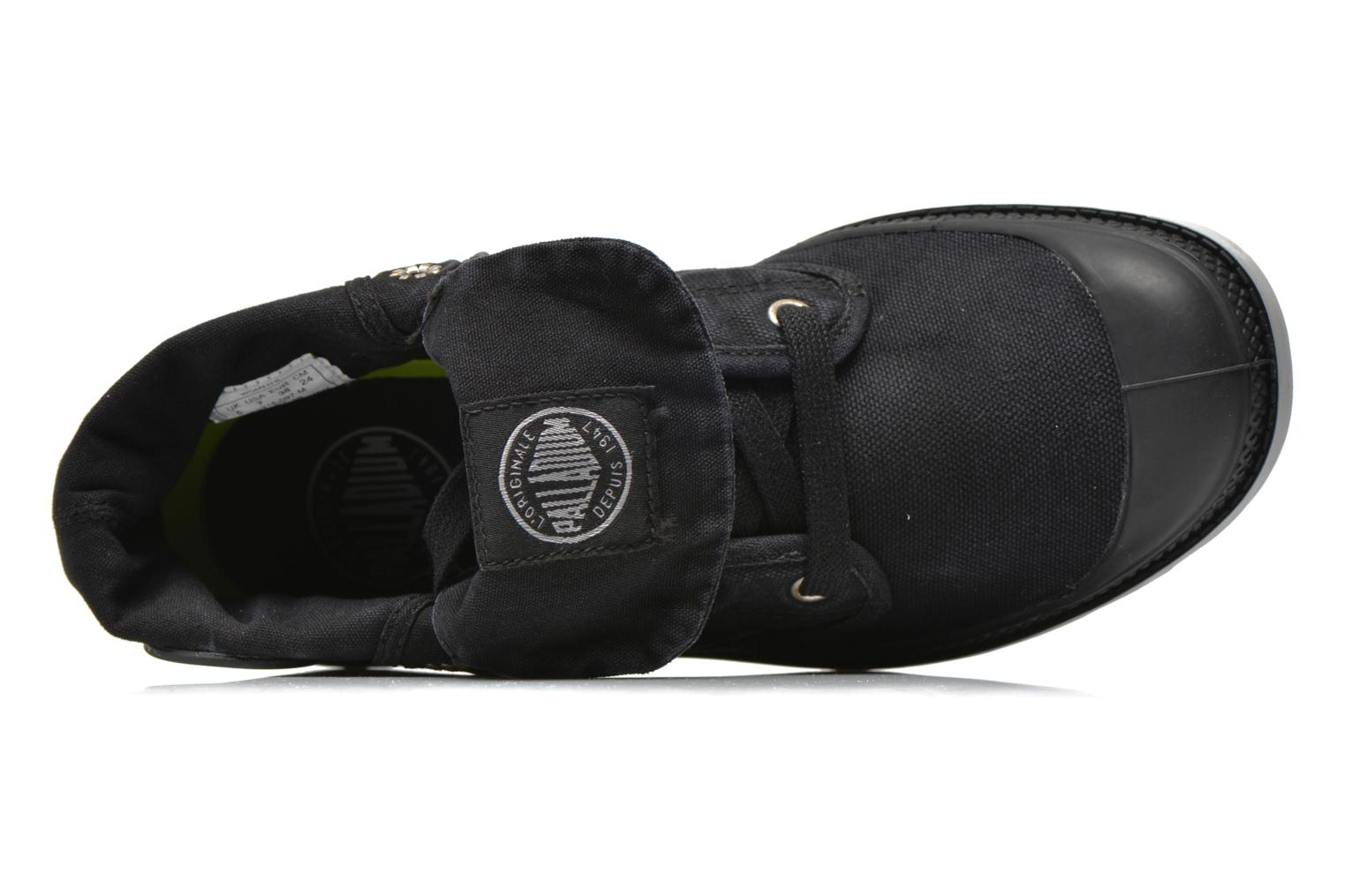 Trainers Palladium Baggy Low Lp F Black view from the left