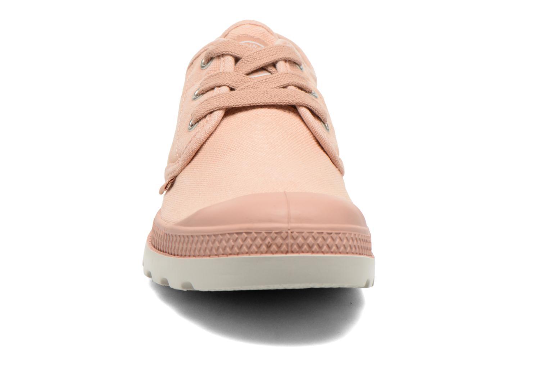 Sneaker Palladium Us Oxford Lp F rosa schuhe getragen