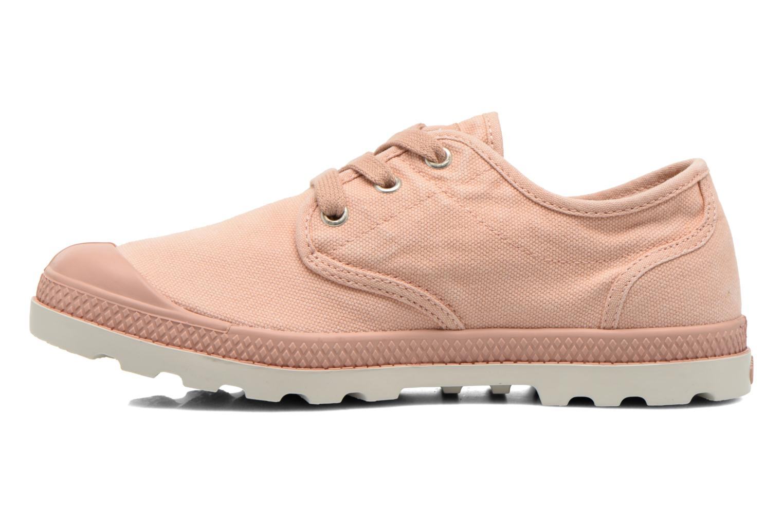 Sneakers Palladium Us Oxford Lp F Roze voorkant
