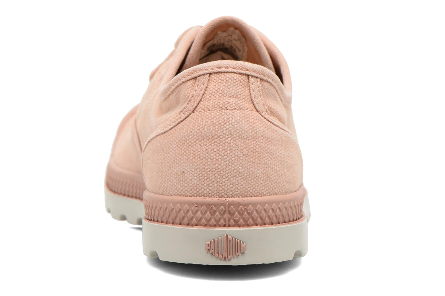 Trainers Palladium Us Oxford Lp F Pink view from the right