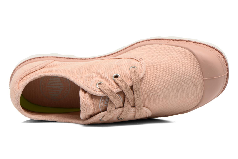 Sneaker Palladium Us Oxford Lp F rosa ansicht von links