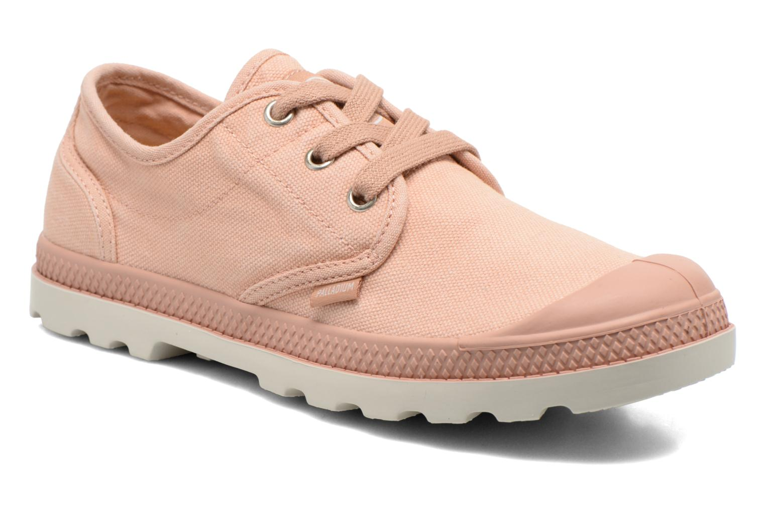 Trainers Palladium Us Oxford Lp F Pink detailed view/ Pair view