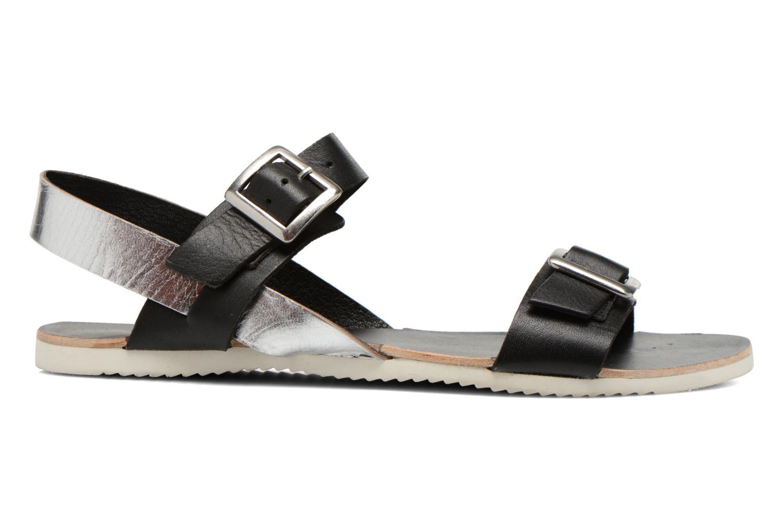 Sandales et nu-pieds No Box Maya Noir vue derrière