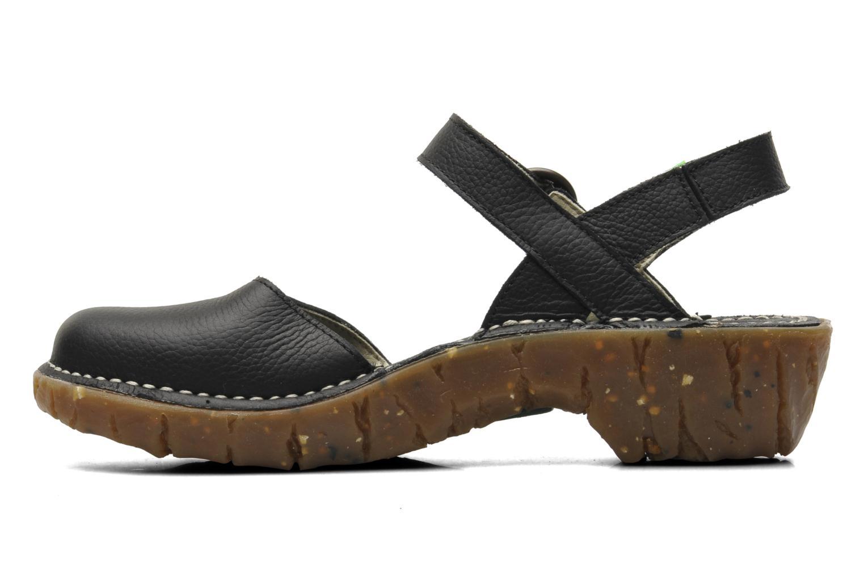 Sandals El Naturalista Yggdrasil N178 Black front view
