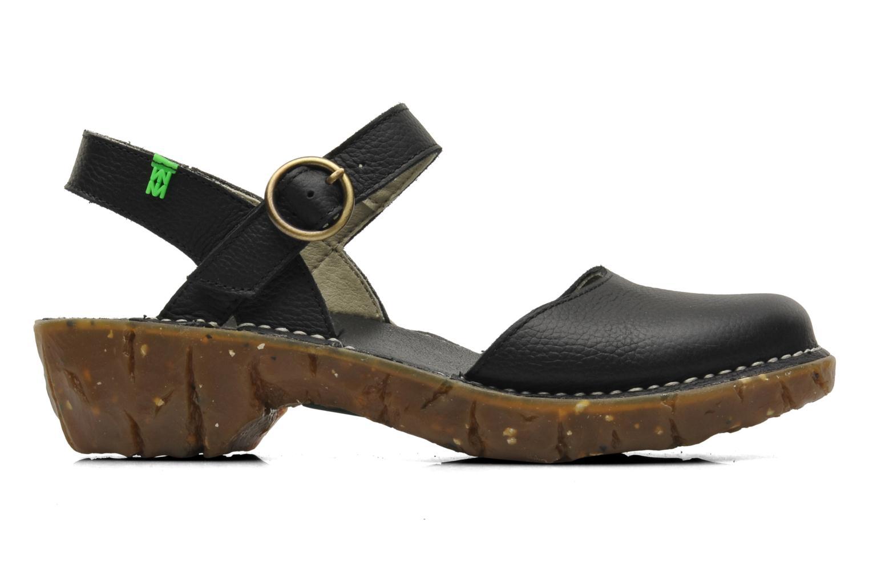 Sandales et nu-pieds El Naturalista Yggdrasil N178 Noir vue derrière