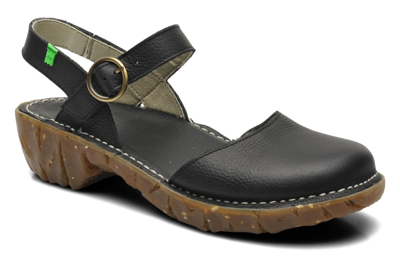 Sandales et nu-pieds El Naturalista Yggdrasil N178 Noir vue détail/paire