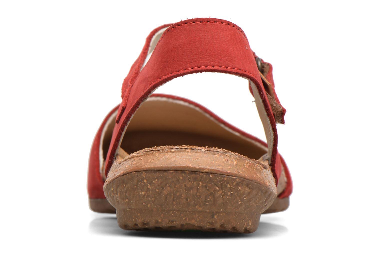 Sandales et nu-pieds El Naturalista Wakataua N412 Rouge vue droite