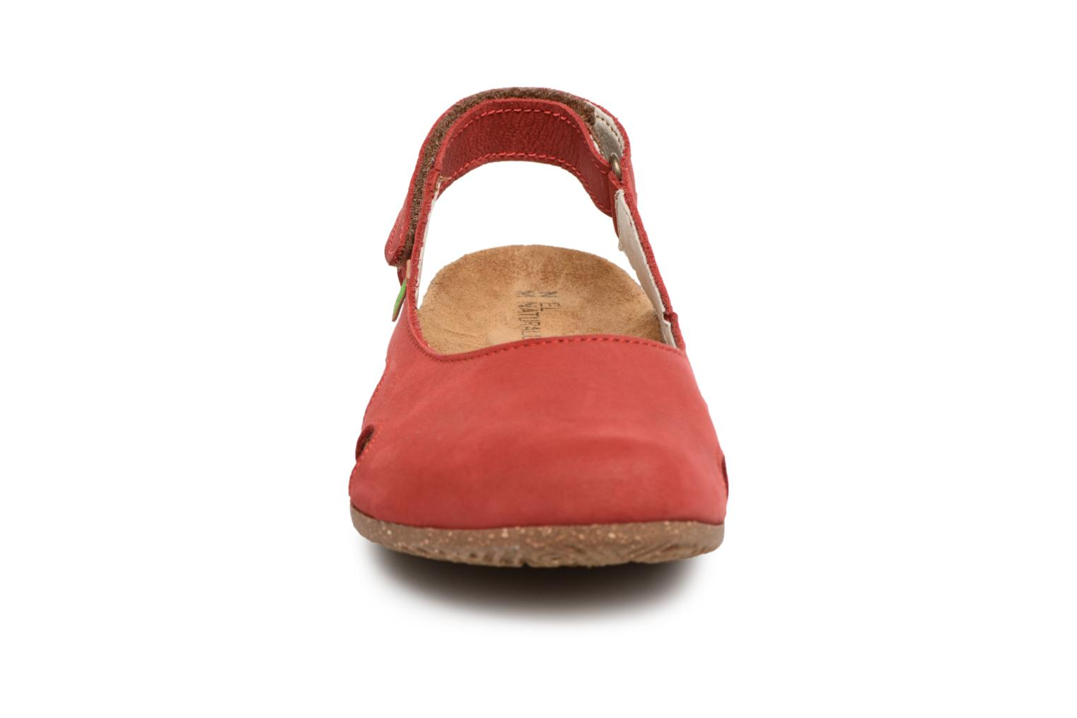 Mules & clogs El Naturalista Wakataua N413 Red model view